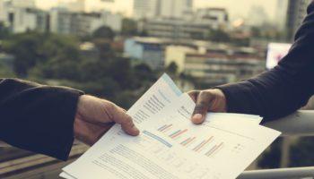 Business Discussion Talking Deal Concept BIM